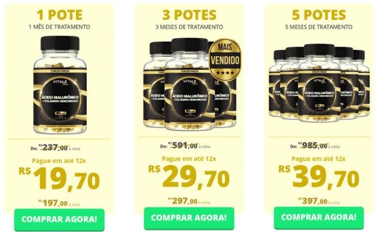 Vitale Skin Preço