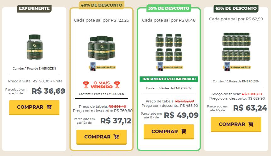 Emergizen Preço
